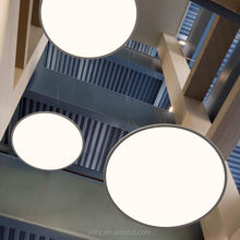 High CRI Low Price 80lm/w Recessed Led Panel Lights Ceiling Down Light Slim 72W Round Panel Led Light
