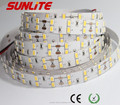 high lumen double line samsung 5630 led strip/ 600led 24v led strip