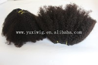 Best selling 6a grade 100% virgin brazilian human hair afro kinky curly