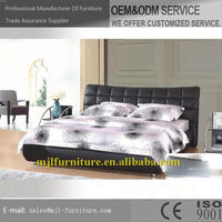 Low price top sell simple design cheap soft bed