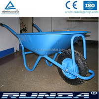 Building wheel barrow WB5009 in blue, red, pink, green, yellow color etc