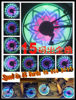 New! Hotting! Xuancai DIY Bicycle wheel light-36 LEDs with 32 pict.
