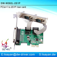 Factory direct sale pci express serial parallel port card