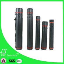 Telescope drawing tube plastic storage tube expandable plastic tube