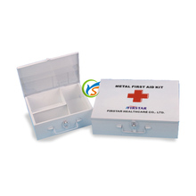 Hot sale Medical survival kit metal first aid box