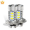 Xenon White LED Auto Light H1 H7 H4 15 SMD Fog Head Car Light Car LED Daytime Day Time Driving Fog Bulb Day Light