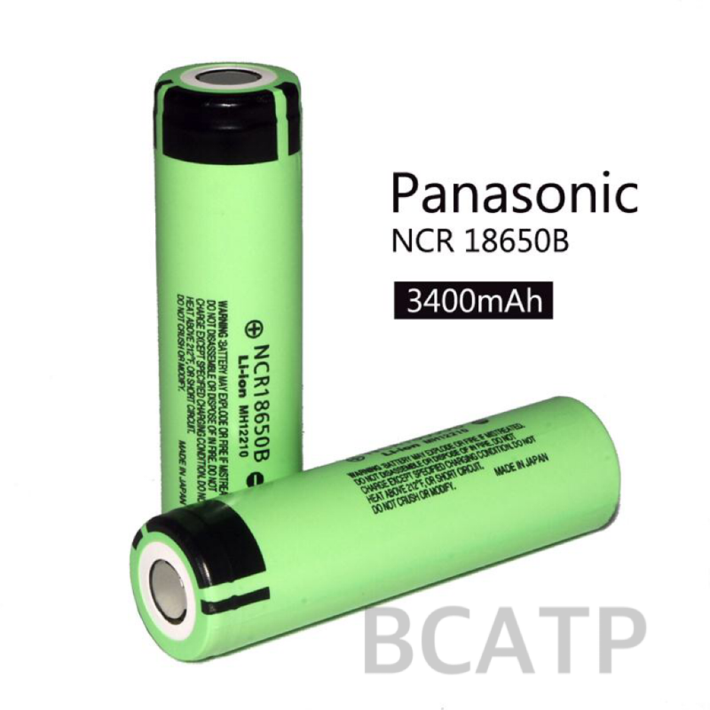 Flat top authentic ncr18650b 3400mah li ion rechargeable battery 18650b 3.7v high capacity battery electric bike