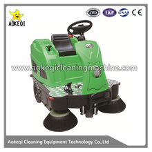 OS-V2 electric floor sweeping machine mide-sized street sweeper