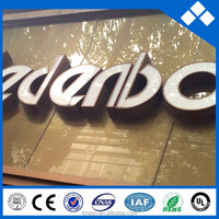 store name signs of led light up letter for lighting sign board