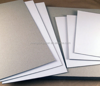 coated white top liner grey cardstock 1200g 800g grey board