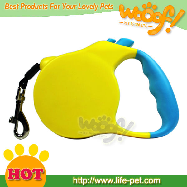 Popular 3 Meter Belt 8KG Full Force Weight Yellow Auto Retractable Dog Leash