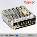 Competitive quotation 25w smps dc power supply12v 2a switch power