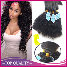 ali factory kinky curl braid on weft new popular wholesale brazil human hair extension braid in weave with eyelash free gift
