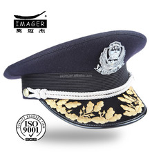 fabrics embroidered air force private cap with back flap