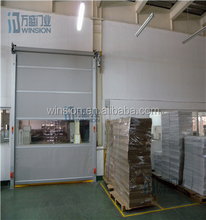 food industry with ce certificate rapid roller shutter KJM-2005