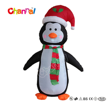 Internal Light Giant Inflatable Penguin Christmas Penguin with Lights for Christmas Decoration