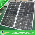 150W foldable solar panel for emergency