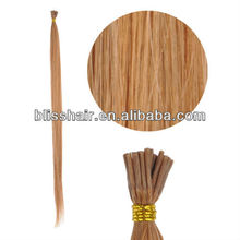 100% Human Hair Pre Bonded Stick Tip - #9 Lightest Brown
