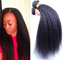 Wholesale cheap healthy unprocessed 100% brazilian virgin yaki human hair wet and wavy