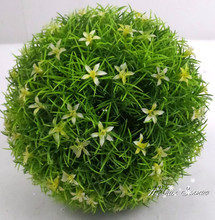 Factory direct sale artificial topiary grass ball preserved boxwood balls for sale with high quality