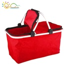 도매 collapsible 더 시원해 market tote insulated fabric 알루미늄 handle storage foldable 접는 된 벤치와 쇼핑 basket