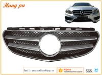 Car Grille Auto Grille Front Bumper grille for Mercedes W212 E Class AMG NEW 2014~2015'YEAR