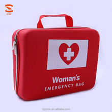 Travel Empty PU Leather Waterproof Factory Woman Emergency First Aid Bag