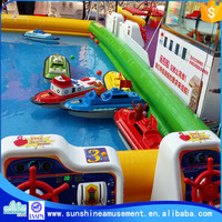 children coin pusher boat game machine