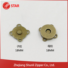 Professional Manufacturer Hot Market magnetic snap button,tack magnet button