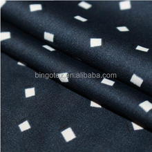 wholesale ITY 100%polyester soft silk like printed stretch satin fabric for garment