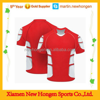 2015 New Design Sublimation Custom Rugby Jersey Wholesale