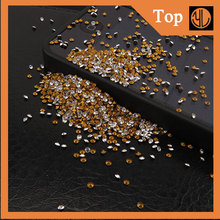Wholesale Glass Point Back sew on Rhinestone metal studs for clothing