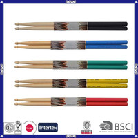cheap price good quality colorful custom drumsticks