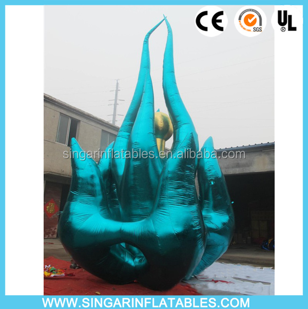 Custom inflatable hot fire for party promotion decor,inflatable items,inflatable street art