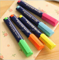 cute solid highlighter pen for promotion and mark