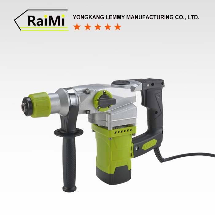 RMC02 50/60HZ Rated frequency 0-1100r/min No-load speed Multi-function electric chipping hammer tools
