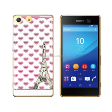 Free sample ultra-thin soft plastic gel back cover for sony xperia v lt25i