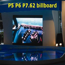 high quality rental led display indoor p7.62 p6 p5 stage video display china smd 3528 lamp led display board