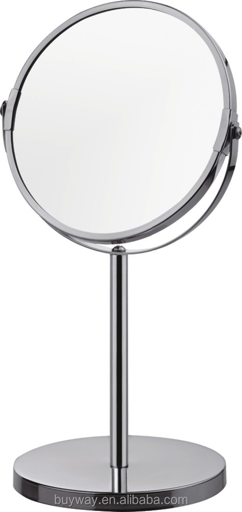 Promotion hot sale round metal make up small mirror