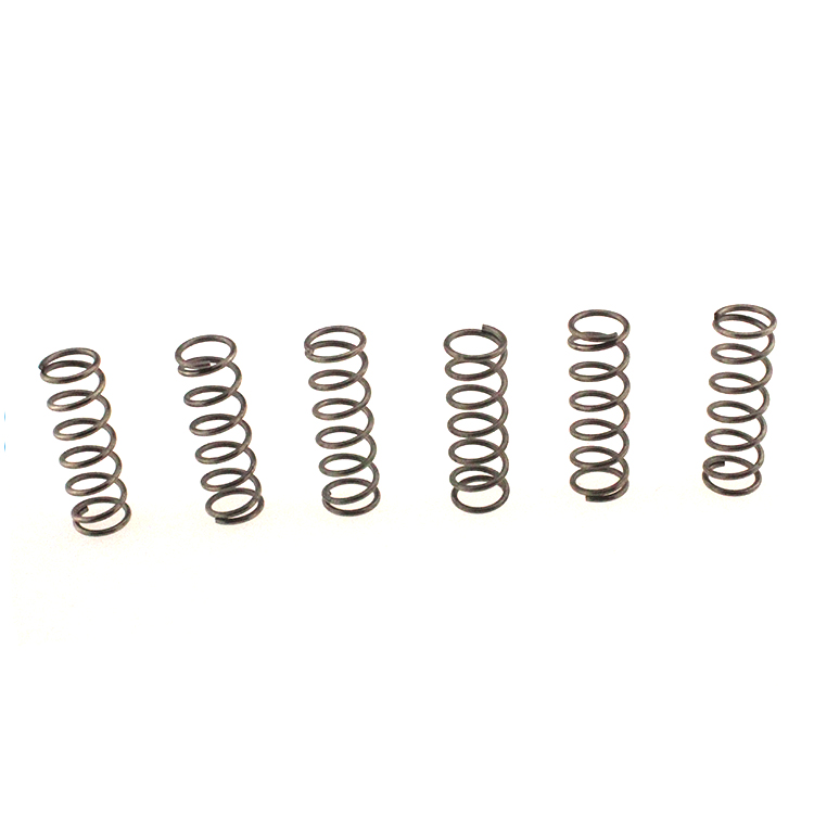 High elasticity small coil compression spring for hinge