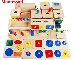 Made in china wooden toys educational montessori material for preschool children
