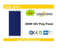 300w high efficiency pv solar panel
