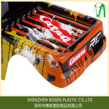 Custom PVC car body cover / vacuum formed body cover for rc car