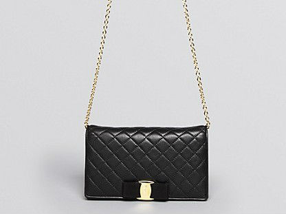 Designer elegant quilted leather lady purse