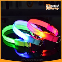 LED flasing dog collars TZ-PET2110 illuminated dog collar