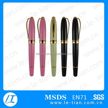 MP-236 Branded german ink metal short roller ball pen for gift
