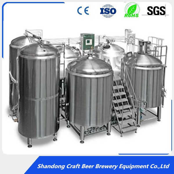 500L 700L 1000L craft beer brewing equipment brewery system for commercial pub,restaurant
