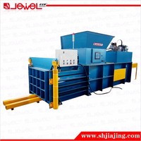 Semi Automatic Horizontal Hydraulic Press Waste