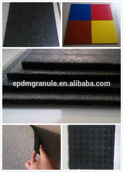 High Quality Rubber Tiles for weight or outdoor