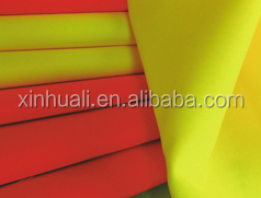 HI-VIS oxford fabric with breathable coating pass EN20471 and EN343 used for protective garments